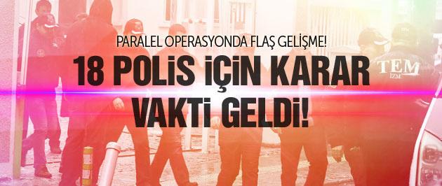 Cemaat polislerine operasyonda flaş gelişme!