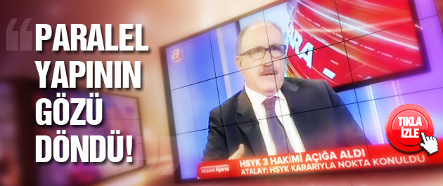 Beşir Atalay: Paralel yapının gözü döndü!