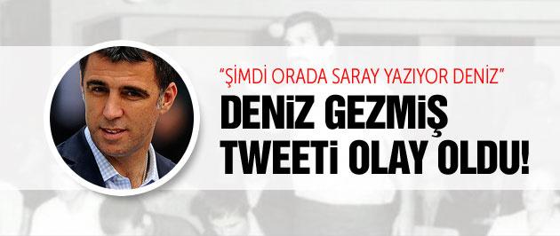 Hakan Şükür'ün Deniz Gezmiş tweeti olay oldu!