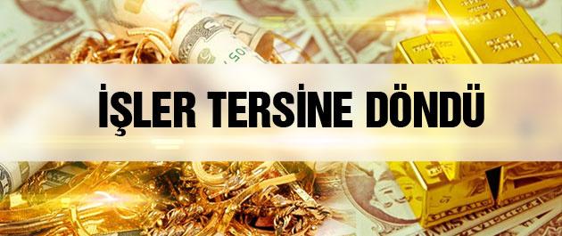 Dolar kuru ve altın fiyatları bugün işler tersine döndü