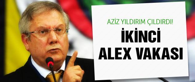 Fenerbahçe'de ikinci Alex vakası!