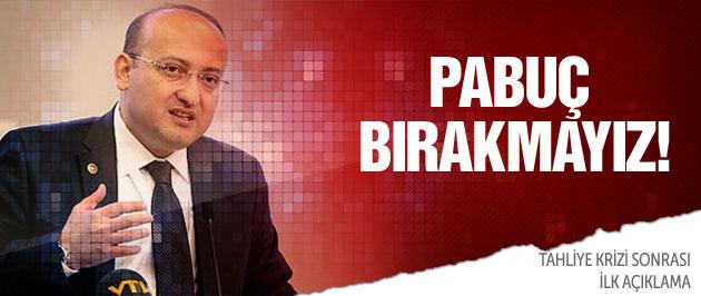 Akdoğan'dan tahliye krizine flaş açıklama!