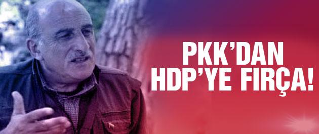 PKK'dan HDP'ye 'seçim bildirgesi' fırçası!