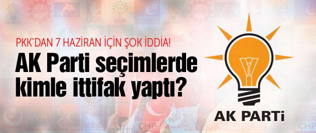PKK'dan şok iddia! AK Parti seçimlerde kimle ittifak yaptı?