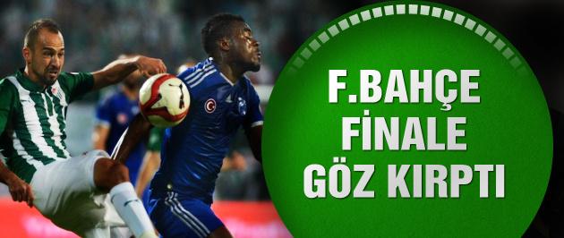 Fenerbahçe kupada Bursaspor'u yendi