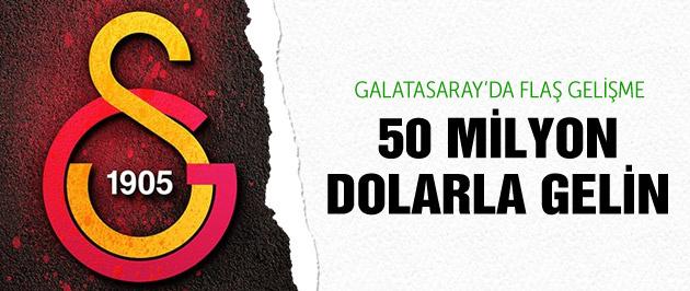 Galatasaray'dan 50 milyonluk çağrı