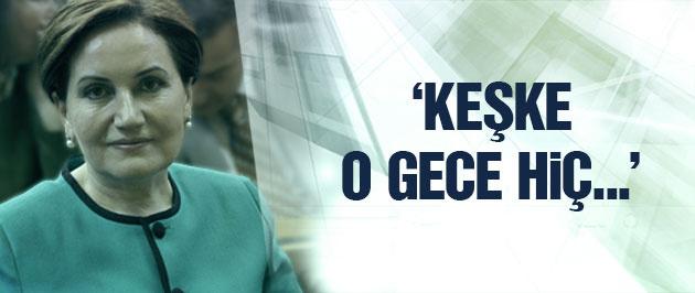 MHP'li Akşener'den itiraf gibi '28 Şubat' açıklaması