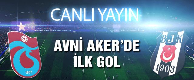 Trabzonspor Beşiktaş maçı CANLI YAYIN