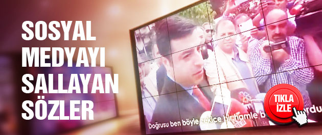 Demirtaş'tan Davutoğlu'na cevap!