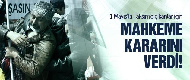 İstanbul'da 1 Mayıs tutuklamaları!