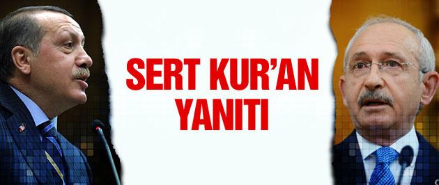 Erdoğan'dan Kılıçdaroğlu'na sert Kur'an yanıtı