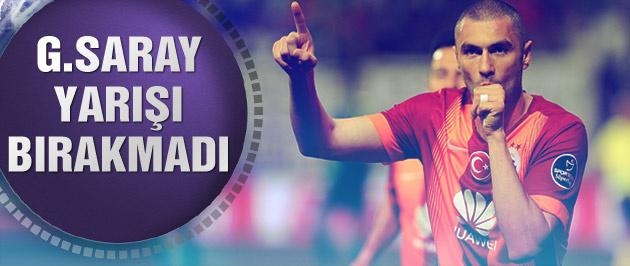 Galatasaray deplasmanda Akhisar'ı rahat geçti