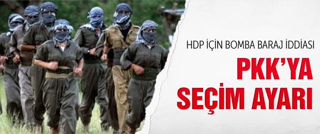 Seçim öncesi bomba PKK iddiası!
