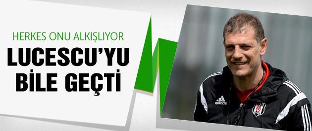 Slaven Bilic Lucescu'yu bile geçti