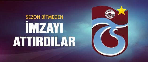 Trabzonspor'dan iki yıllık imza