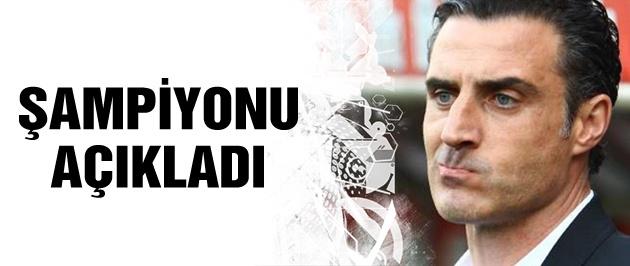 Tayfur Havutçu şampiyonu açıkladı
