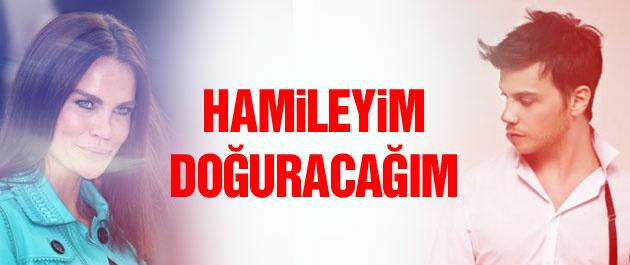 Ebru Şallı: Hamileyim doğuracağım!