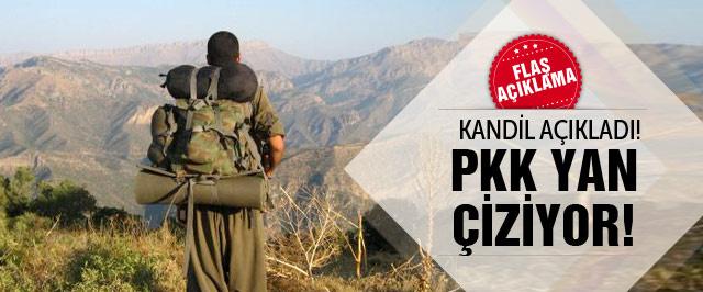 Kandil yöneticisinden flaş açıklama! PKK yan çiziyor