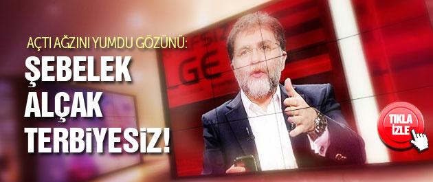 Ahmet Hakan o gazeteciye cemaat ayarı!