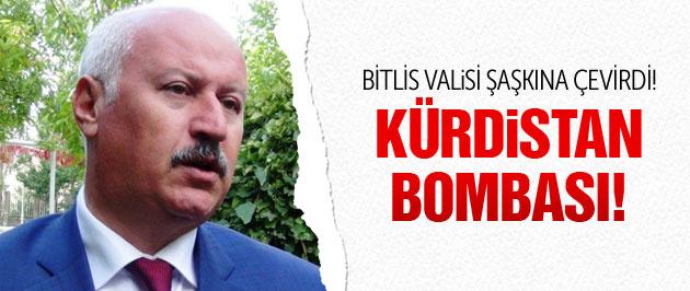 Vali'den Kürdistan ve Diyarbakır bombası!