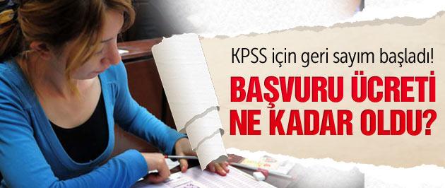 KPSS başvuruları başladı ÖSYM duyurdu!