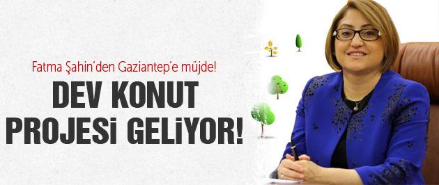 Gaziantep Büyükşehir Belediyesi'nden konut atağı