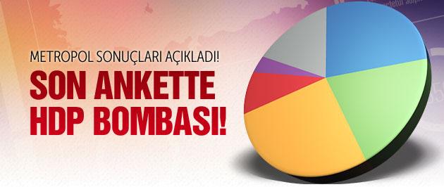 Son anketin sonuçları! HDP barajı aştı mı?