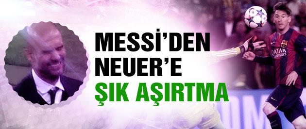 Messi'den Neuer'e PES aşırtması