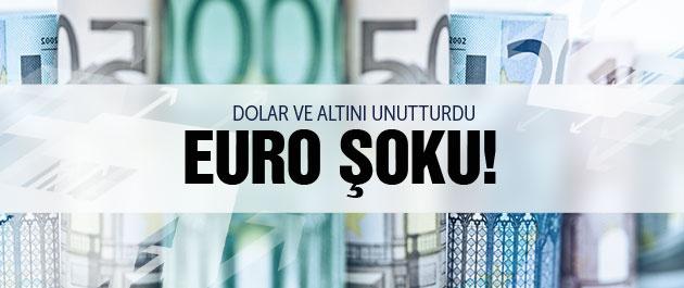 Dolar kuru ve altın fiyatları Euro şoku!