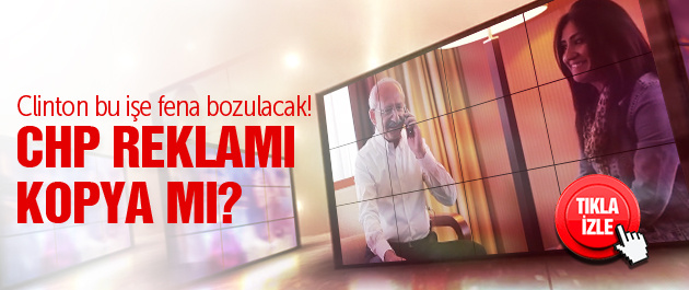 Kılıçdaroğlu'nun kampanyası kopya mı?
