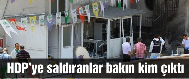 HDP'ye saldıranlar bakın kim çıktı!