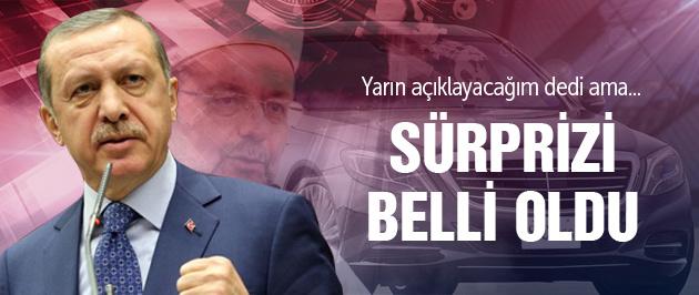 İşte Erdoğan'ın Diyanet sürprizi!