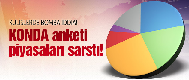 KONDA'nın seçim anketi altüst etti