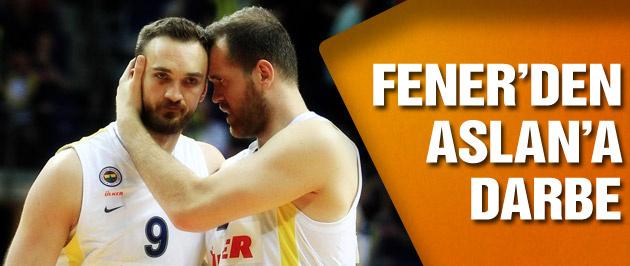 Fenerbahçe'den Aslan'a büyük fark