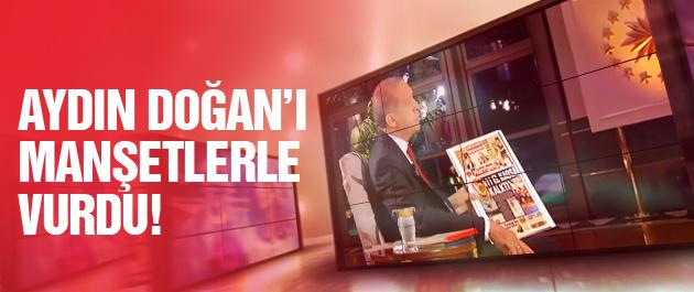 Erdoğan o manşetlere tepki gösterdi!