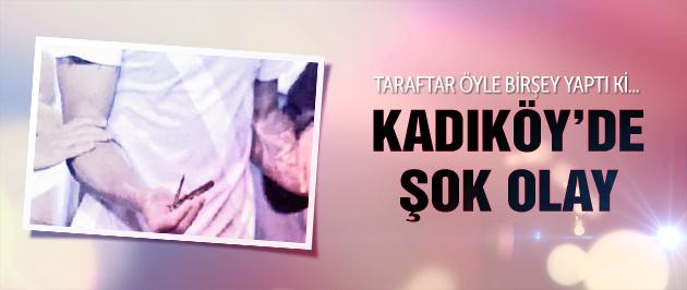 Kadıköy'de Fernandao'ya bıçak atıldı