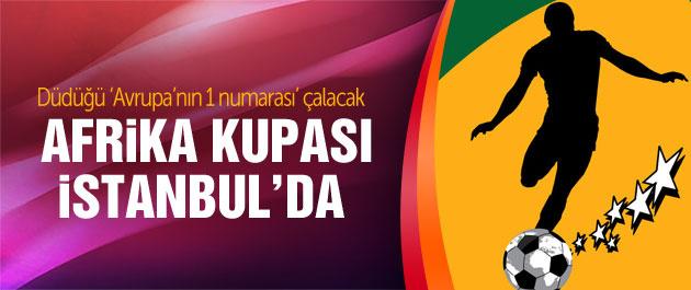 Afrika Kupası heyecanı Cüneyt Çakır'la başlayacak!