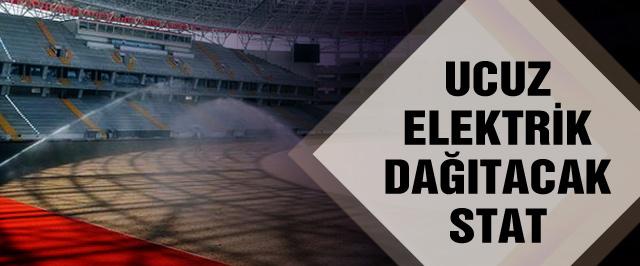 Yeni Antalya Stadı elektrik üretecek