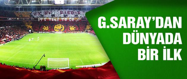 Galatasaray'dan dünyada bir ilk!