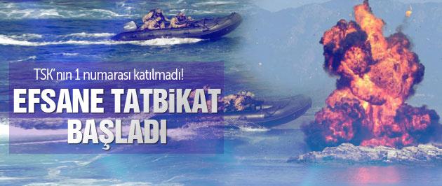 TSK'dan nefes kesen 'Denizkurdu' tatbikatı