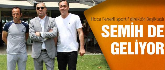 Hoca F.Bahçeli sportif direktör de Beşiktaşlı!
