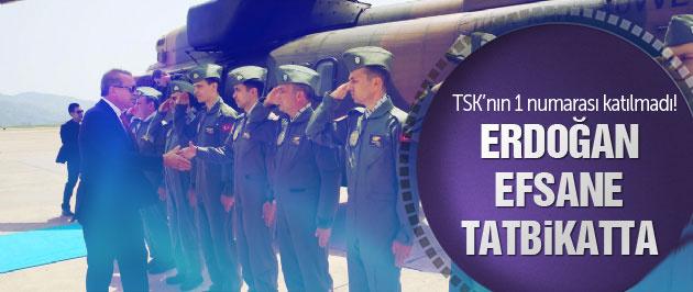 Erdoğan TSK'nın nefes kesen 'Denizkurdu' tatbikatında