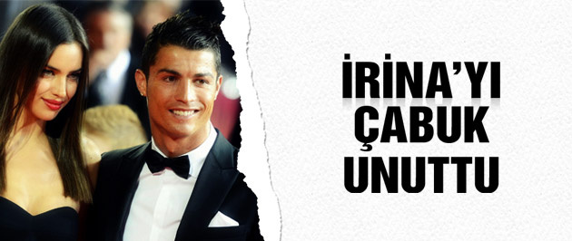 İşte Ronaldo'nun yeni aşkı