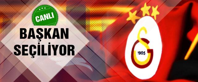 Galatasaray 36. başkanını seçiyor