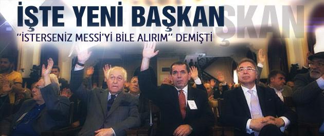 Galatasaray'ın yeni başkanı seçildi