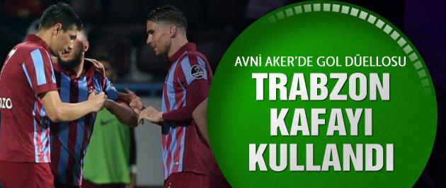 Trabzonspor 3 puanı söktü aldı