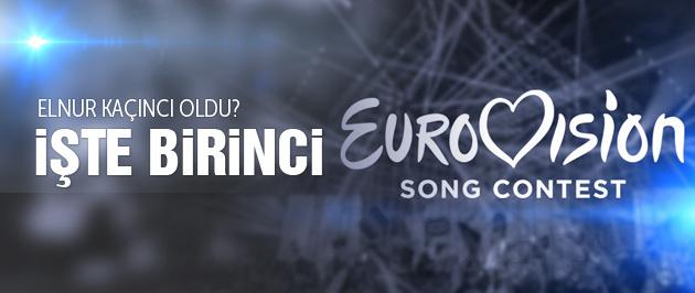 Eurovision 2015 finali kim kazandı Elnur kaçıncı?