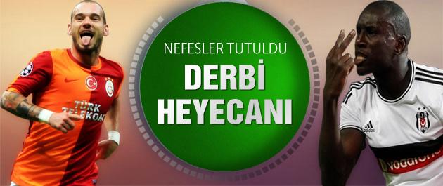 Galatasaray Beşiktaş'ı ağırlıyor