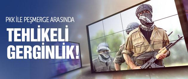 PKK ile peşmerge arasında tehlikeli gerginlik!