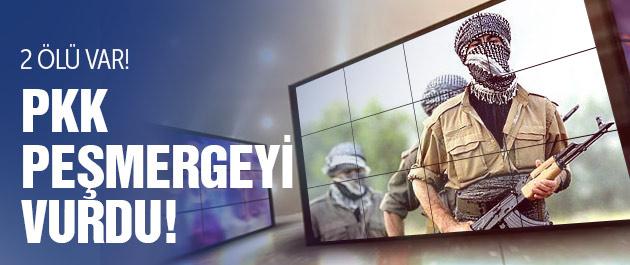 PKK Peşmergeyi önce kuşattı sonra vurdu! 2 ölü var